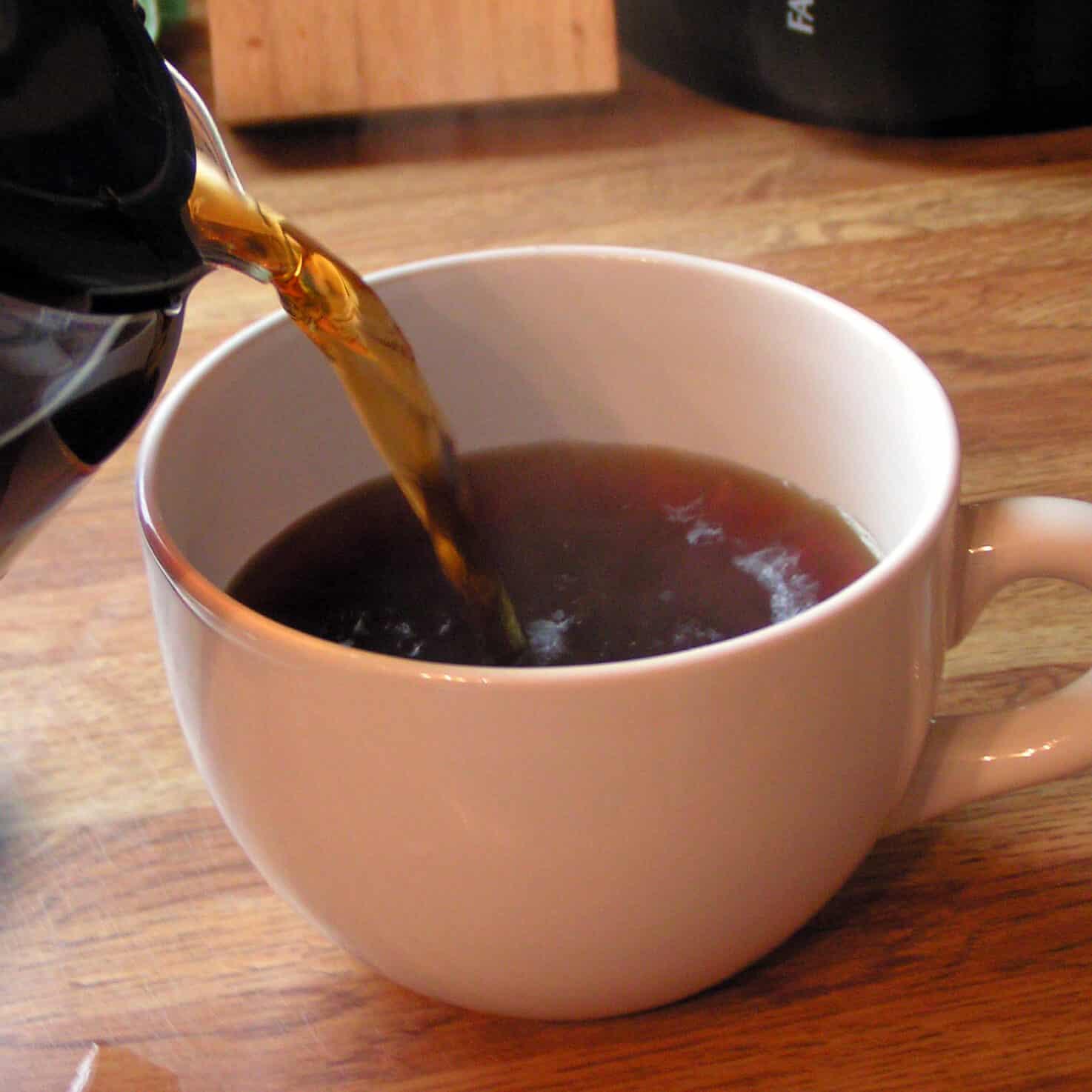 Koffie bij Oase